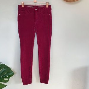 Pilcro & the Letterpress High Rise Skinny Pants
